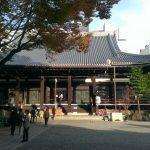 京都・兵庫・愛知観光の旅 本能寺?亀屋良永の御池煎餅を購入!
