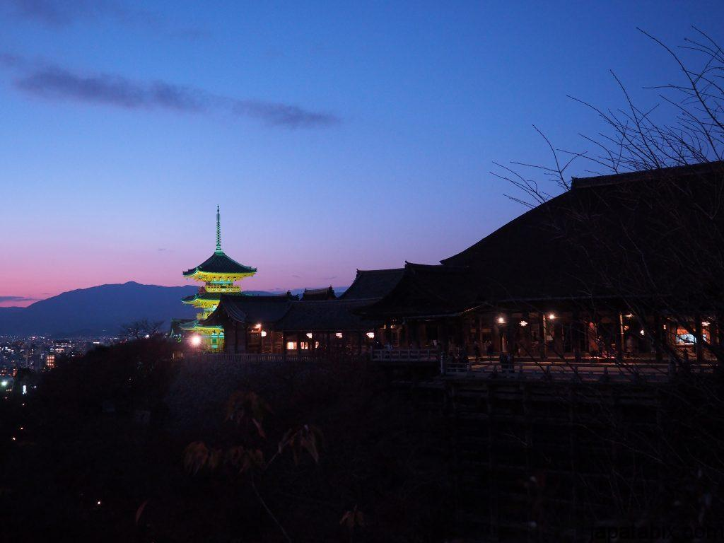 2016年12月の清水寺