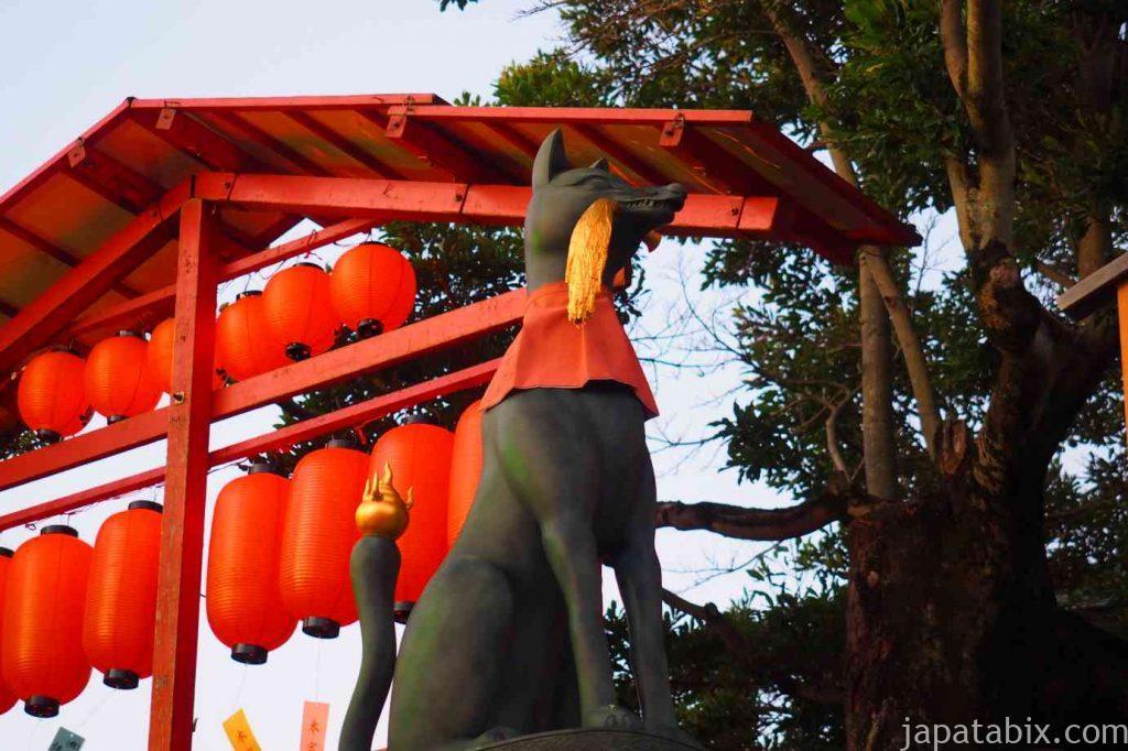 伏見稲荷大社 狛狐
