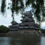 長野観光!加賀井温泉と観光荘でうなぎを食う。松本城は雨で撤退。