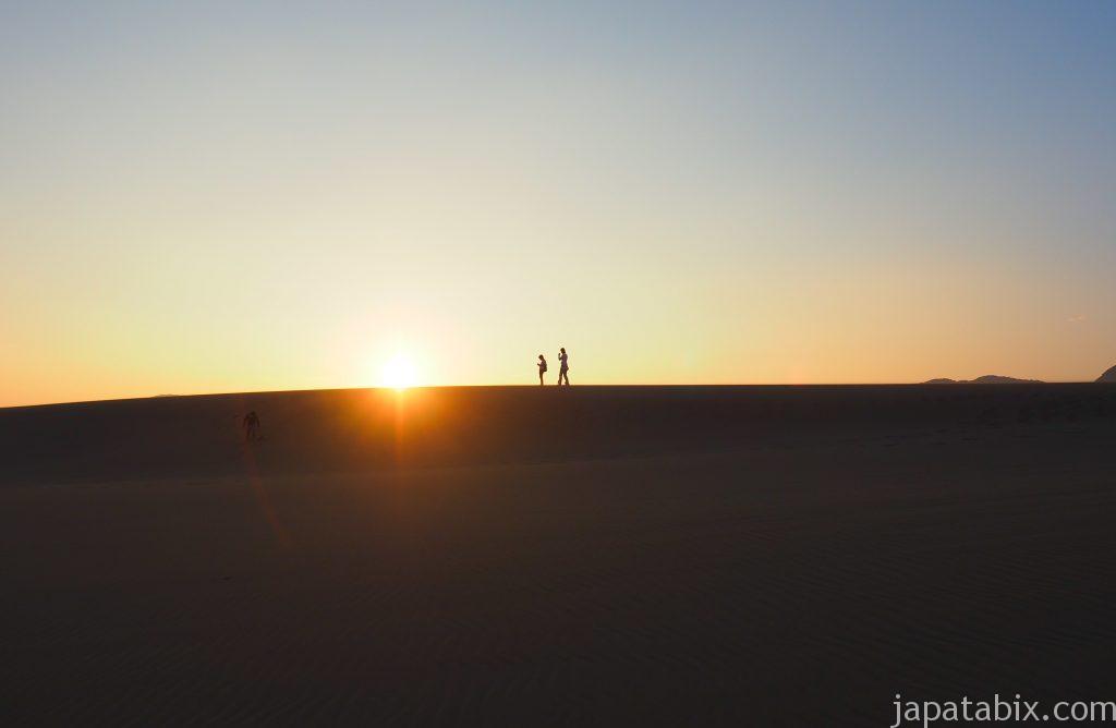 鳥取砂丘の日の出