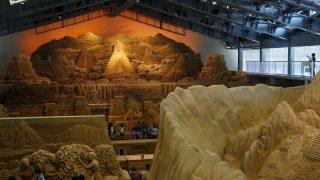 鳥取観光!鳥取砂丘と砂の美術館を巡り、おはよう堂で絶品刺身を頂く。