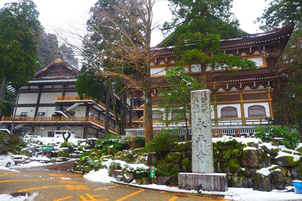 冬の曹洞宗 総本山 永平寺