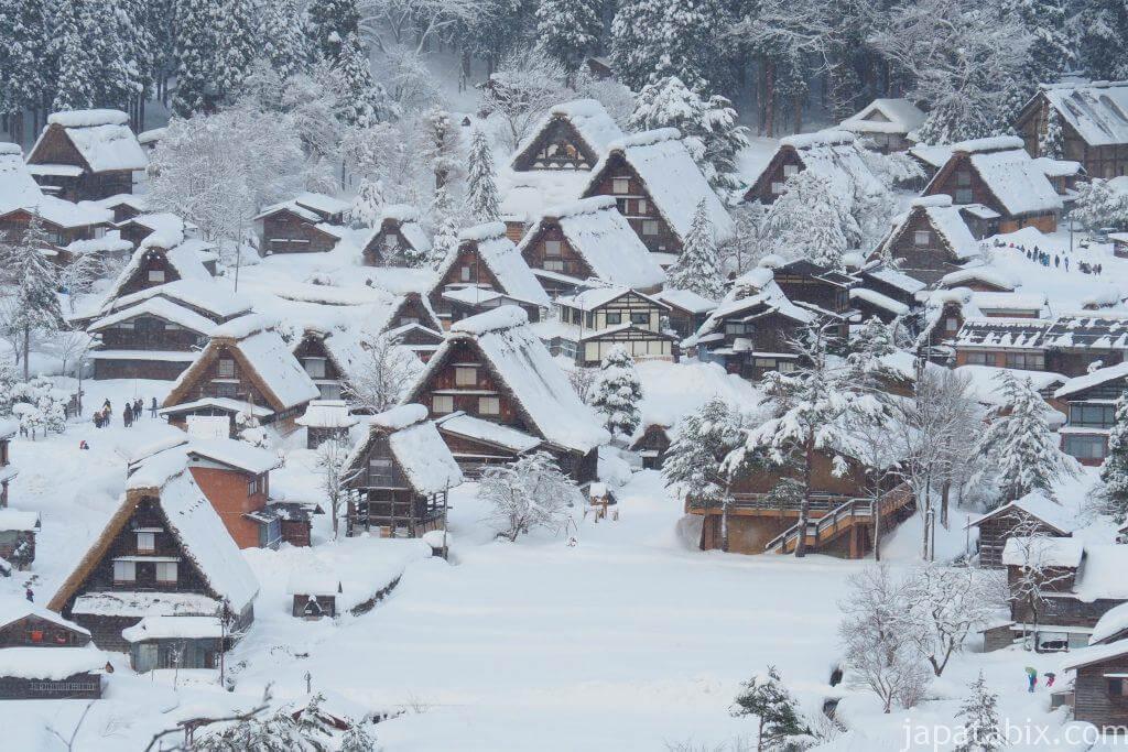 岐阜 雪の白川郷
