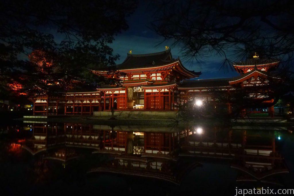 平等院鳳凰堂 夜間特別参拝 紅葉