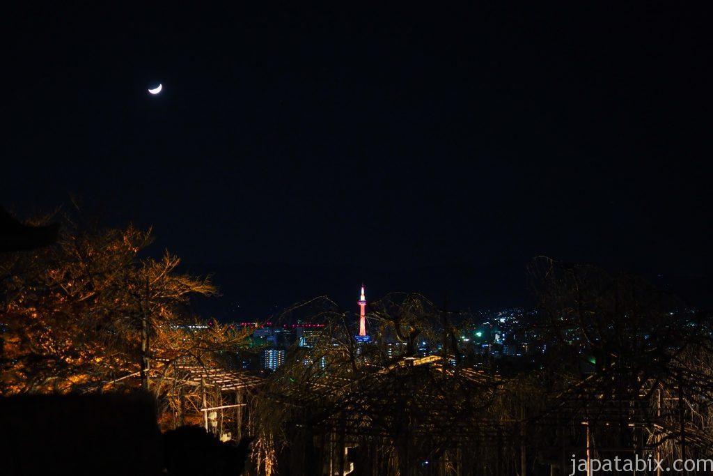 清水寺から見る京都夜景