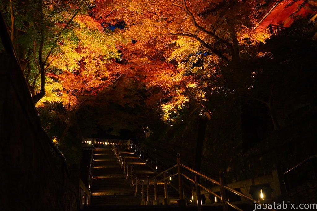 清水寺本堂への階段