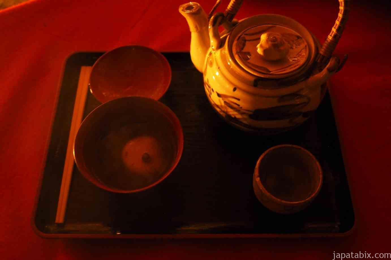 京都 紅葉 永観堂 夜間特別拝観 茶店