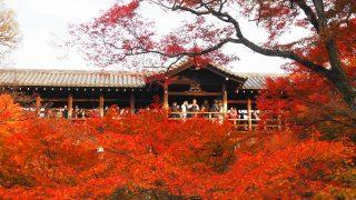 東福寺の紅葉 通天橋