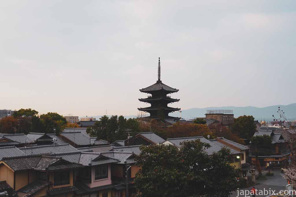 京都 早朝の東山散策 八坂の塔