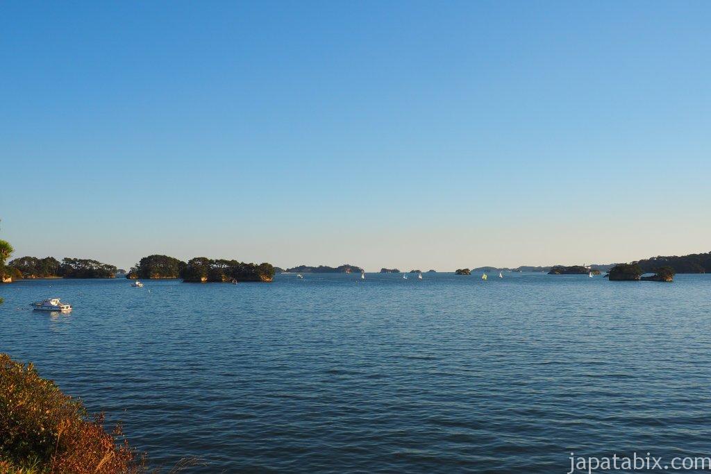 五大堂から見た陸奥の松島
