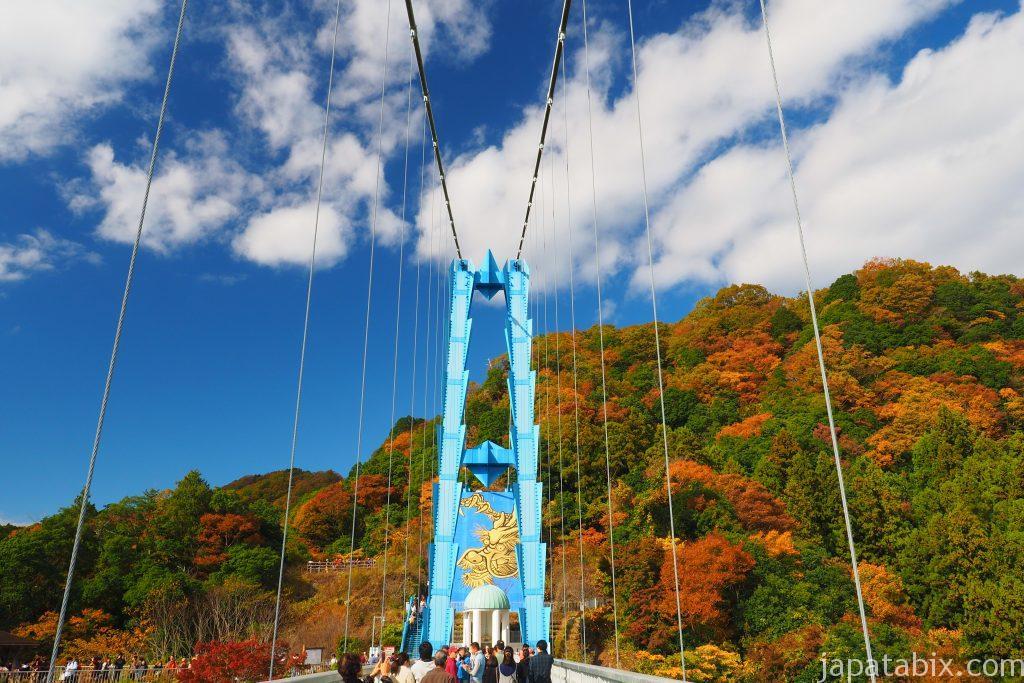 竜神大吊橋の紅葉