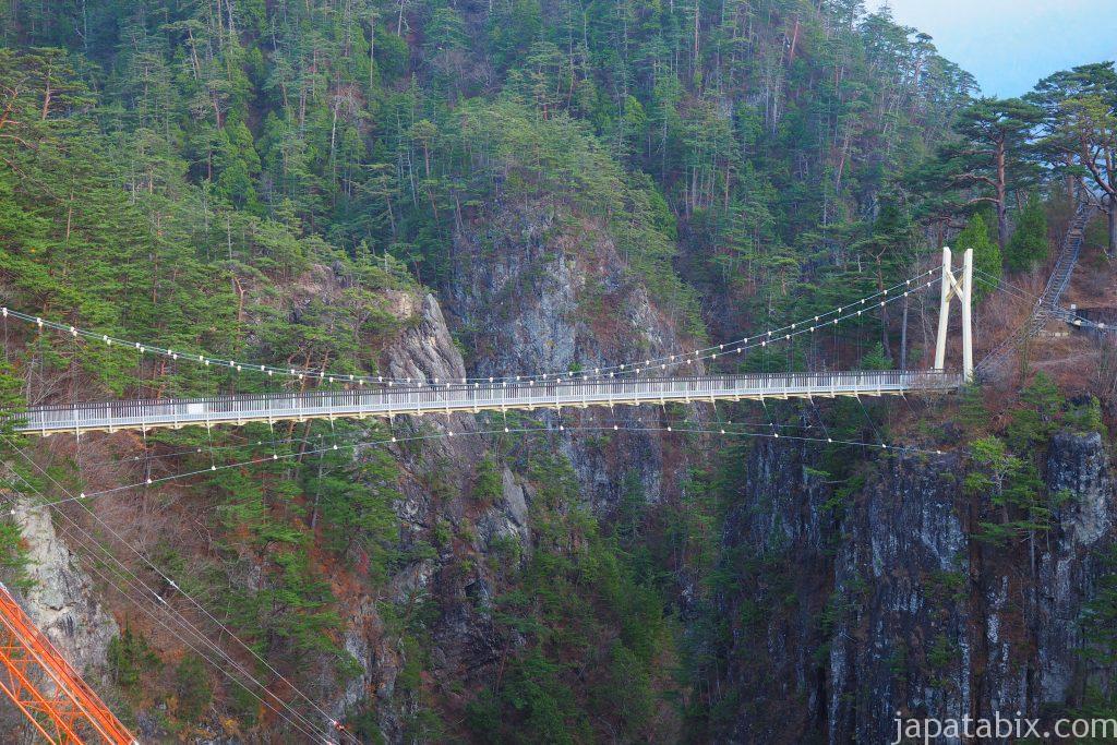 川俣ダムの吊り橋