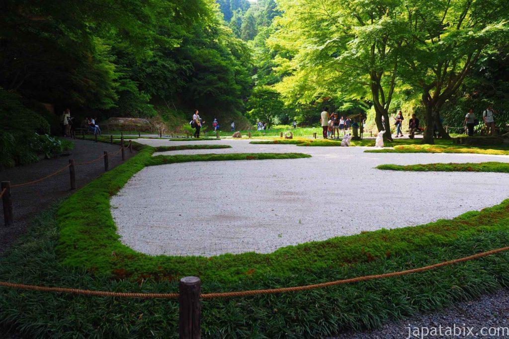 明月院 庭園