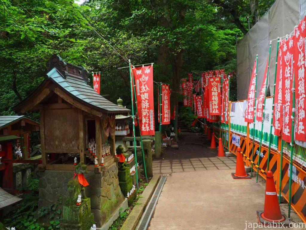 佐助稲荷神社 拝殿