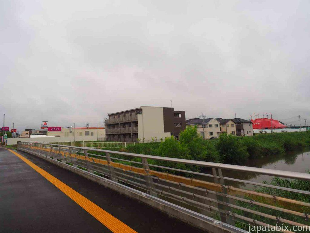 木下大サーカス 埼玉公演駐車場