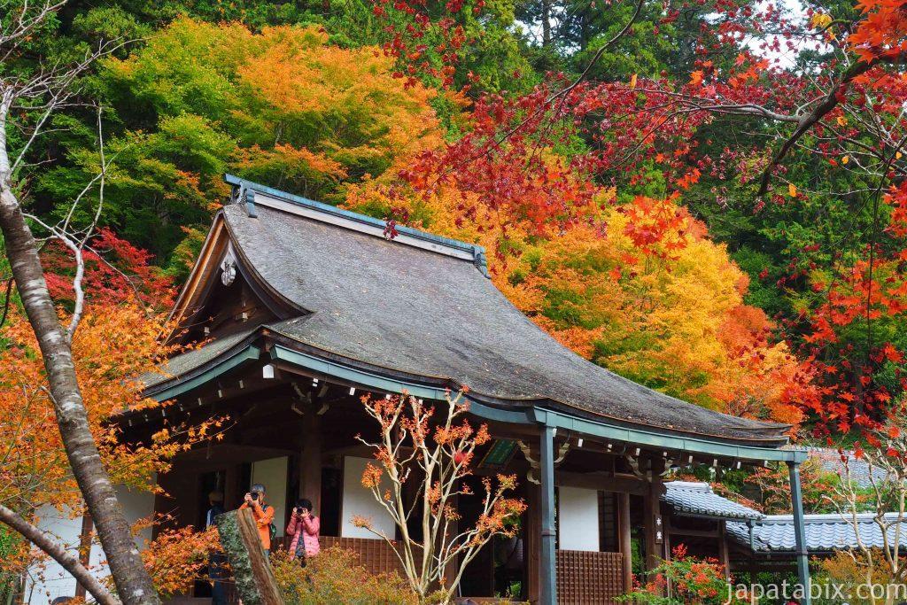 京都 大原 寂光院 本堂