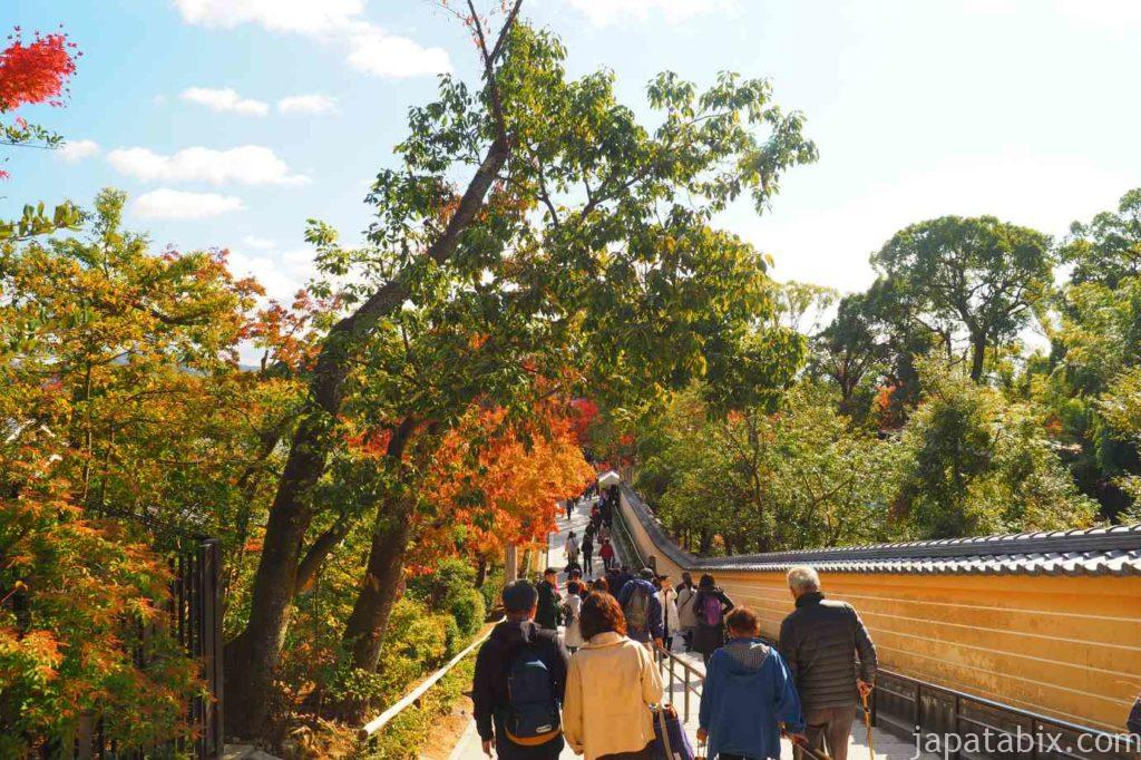 京都 金閣寺 紅葉