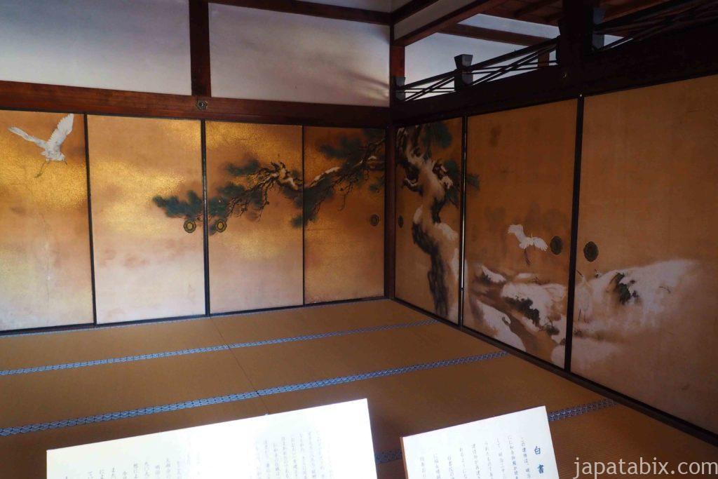 京都 仁和寺 御殿 白書院
