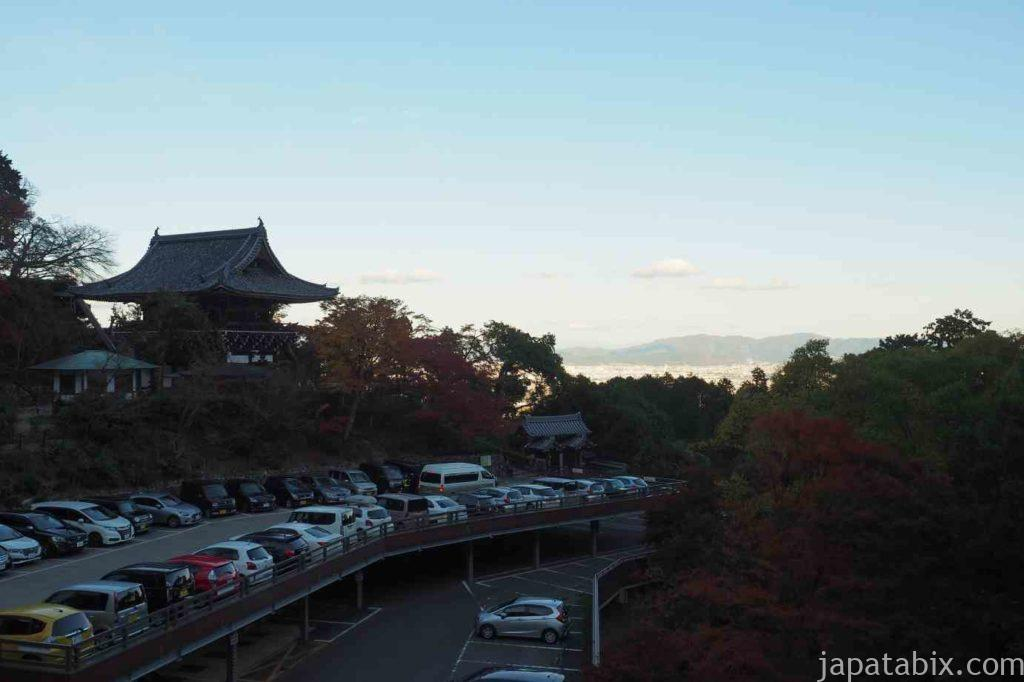 京都 西山 善峯寺 駐車場