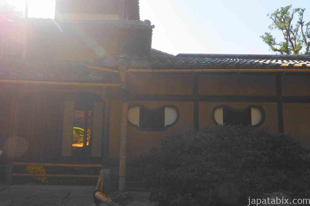 京都 一乗寺 詩仙堂 雲形の窓