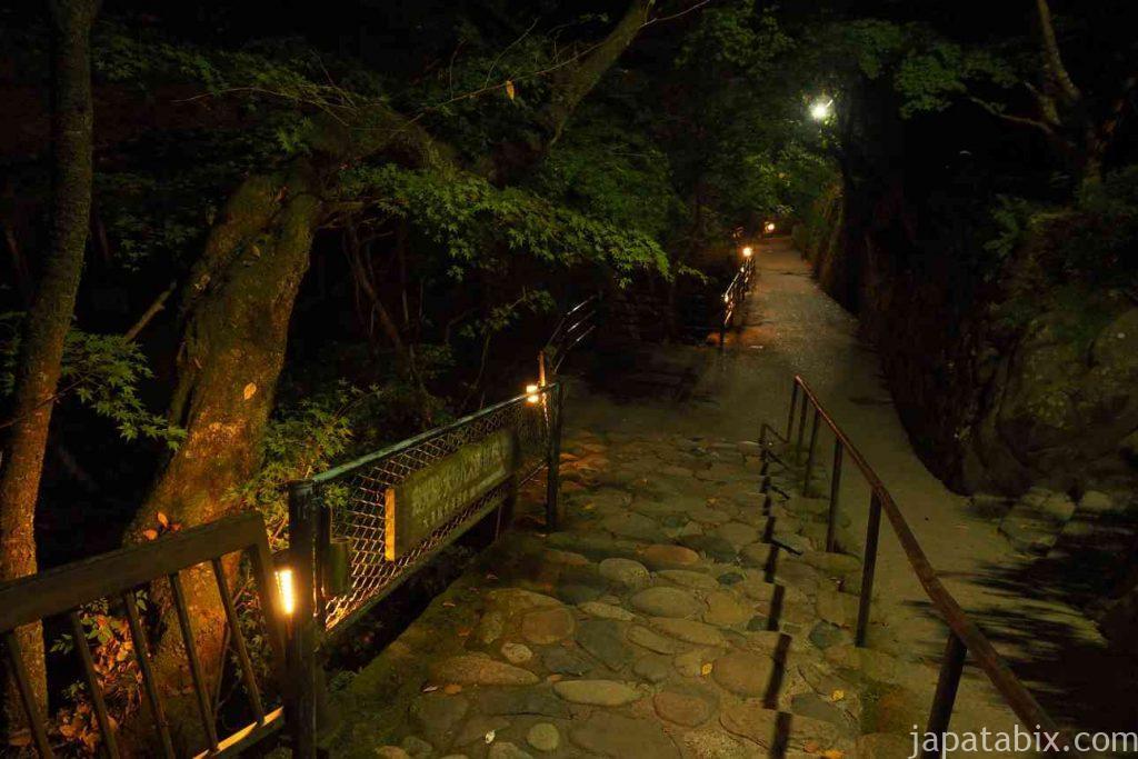 真夜中の京都 大原