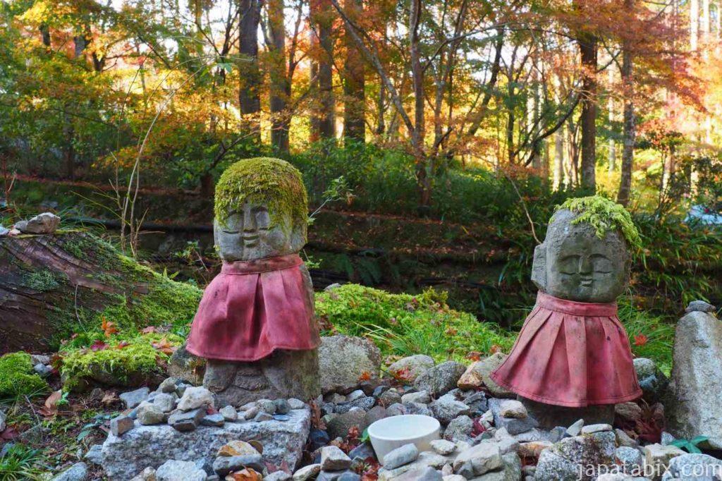 京都 大原三千院 おさな六地蔵 わらべ地蔵