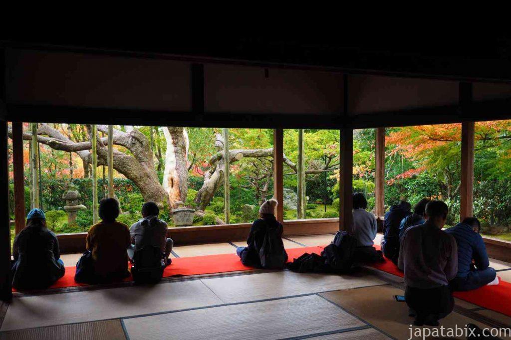 京都 大原 宝泉院 額縁庭園