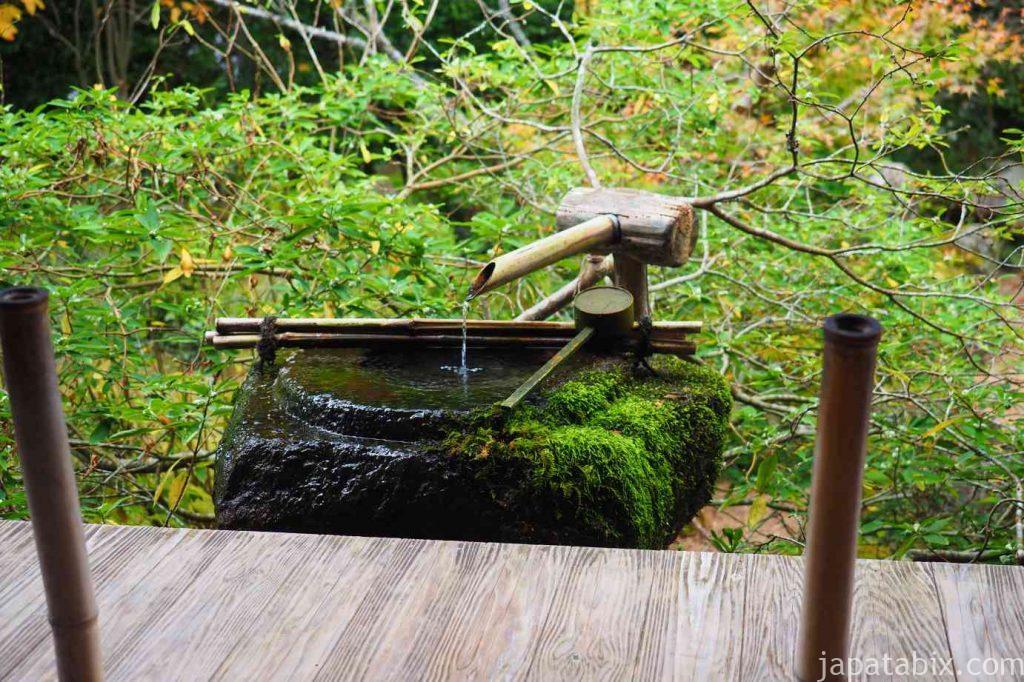 京都 大原 宝泉院 盤桓園 水琴窟