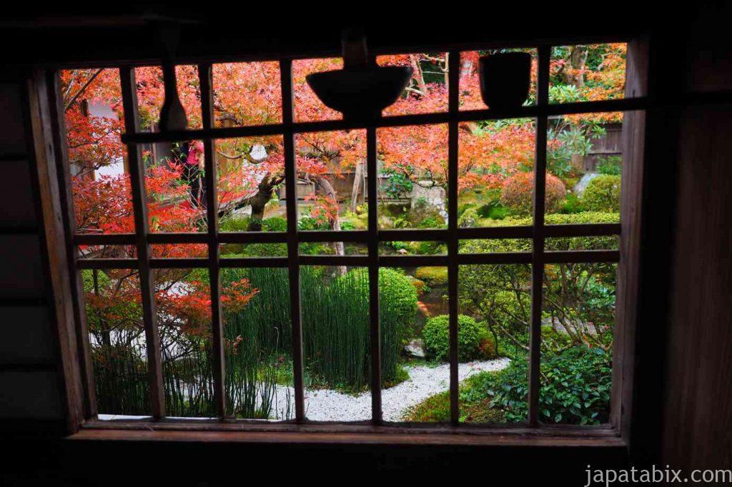 京都 大原 宝泉院 盤桓園 額縁庭園