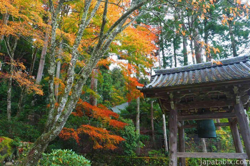 大原 勝林院 鐘楼 紅葉