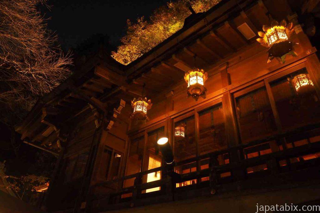 京都 貴船神社 紅葉 本殿