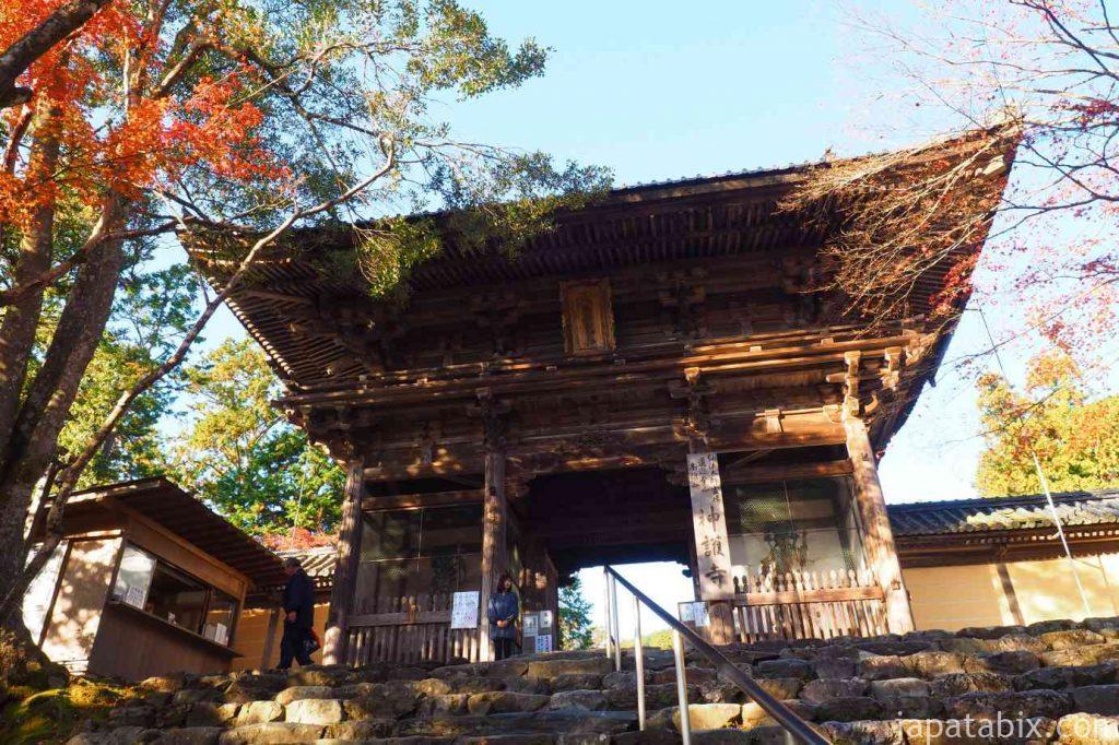 京都 高雄 神護寺 楼門