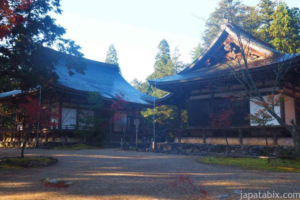 京都 高雄 神護寺 五大堂と毘沙門堂