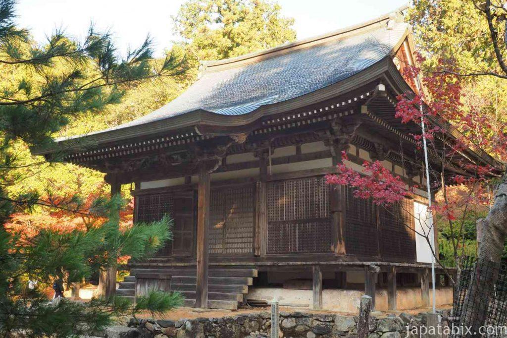 京都 高雄 神護寺 五大堂