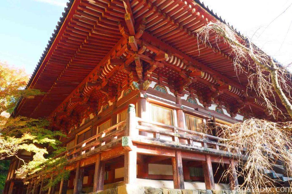 京都 高雄 神護寺 金堂