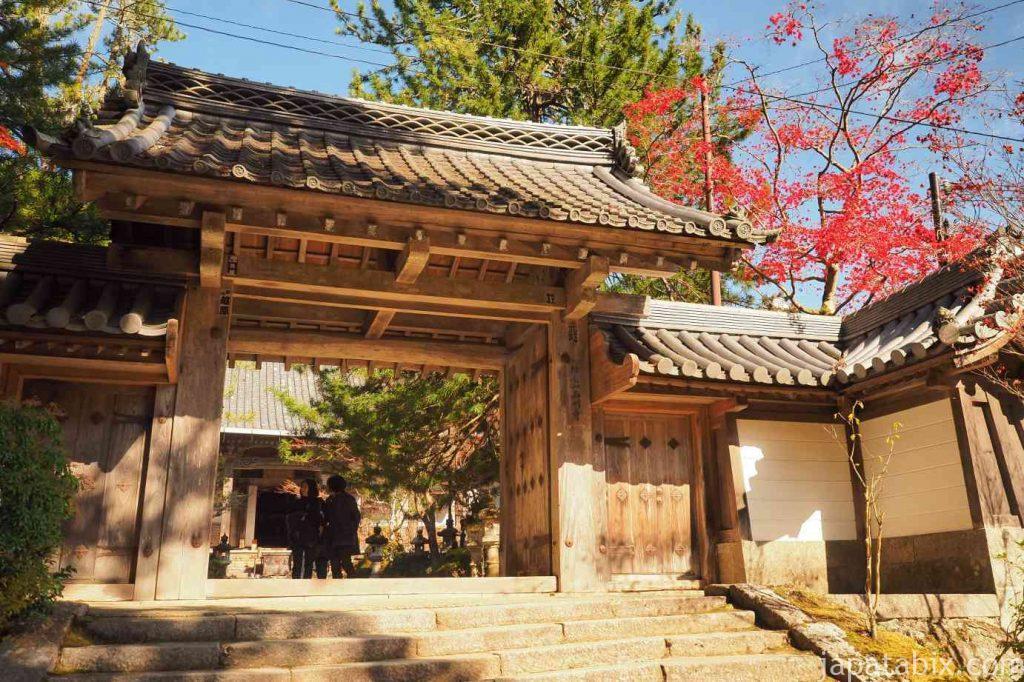 京都 高雄 西明寺 紅葉
