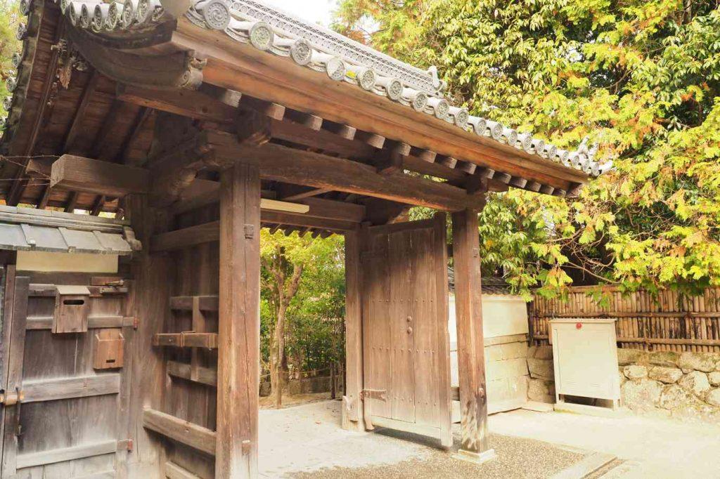 京都 銀閣寺 総門