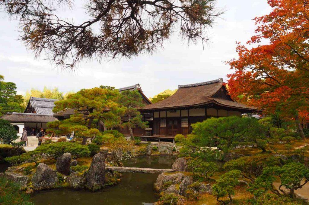 京都 銀閣寺 東求堂