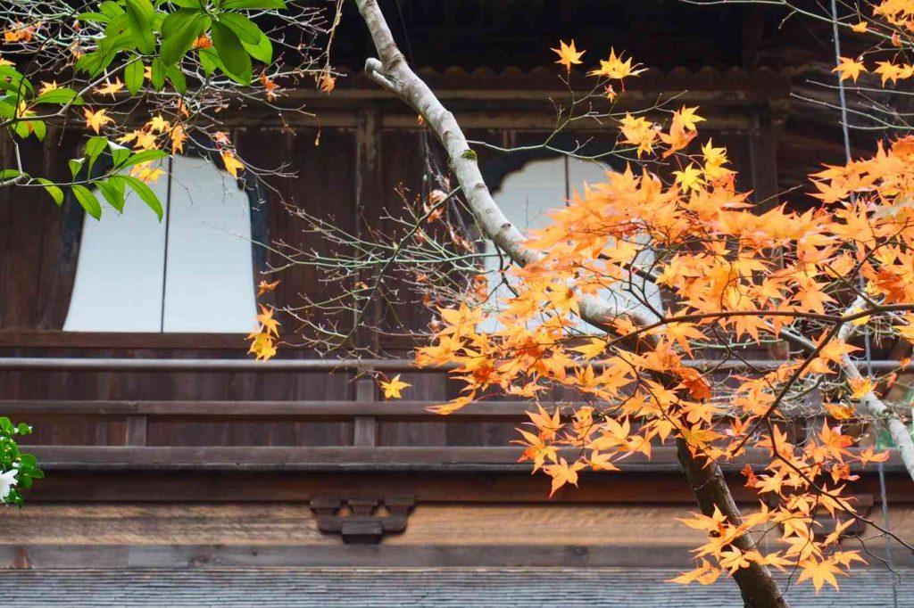 京都 銀閣寺 観音殿の窓