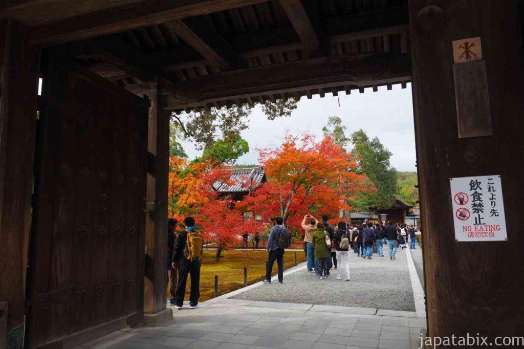 京都 金閣寺 山門
