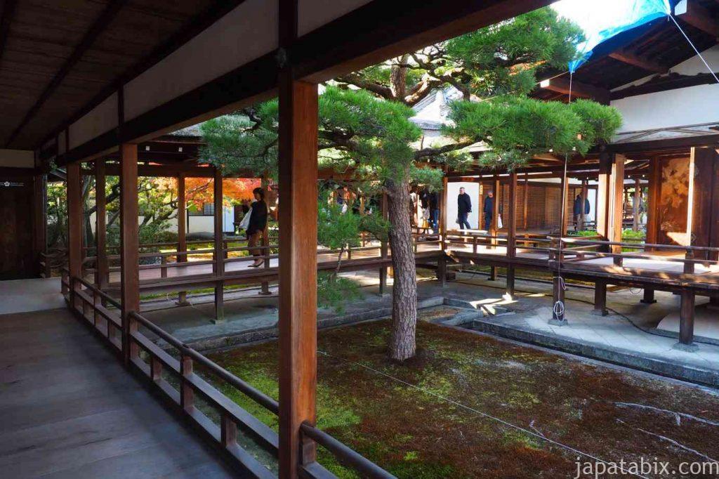 京都 仁和寺 御殿 宸殿の廊下