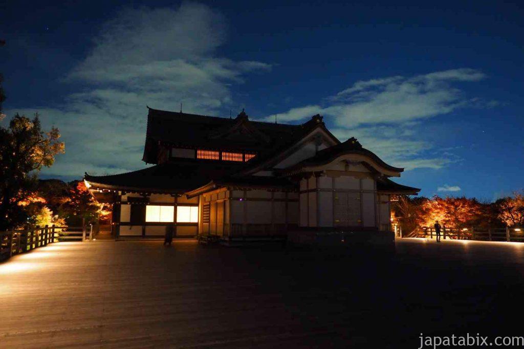 京都 将軍塚青龍殿の夜景