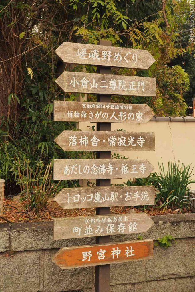 京都 嵯峨 祇王寺 紅葉