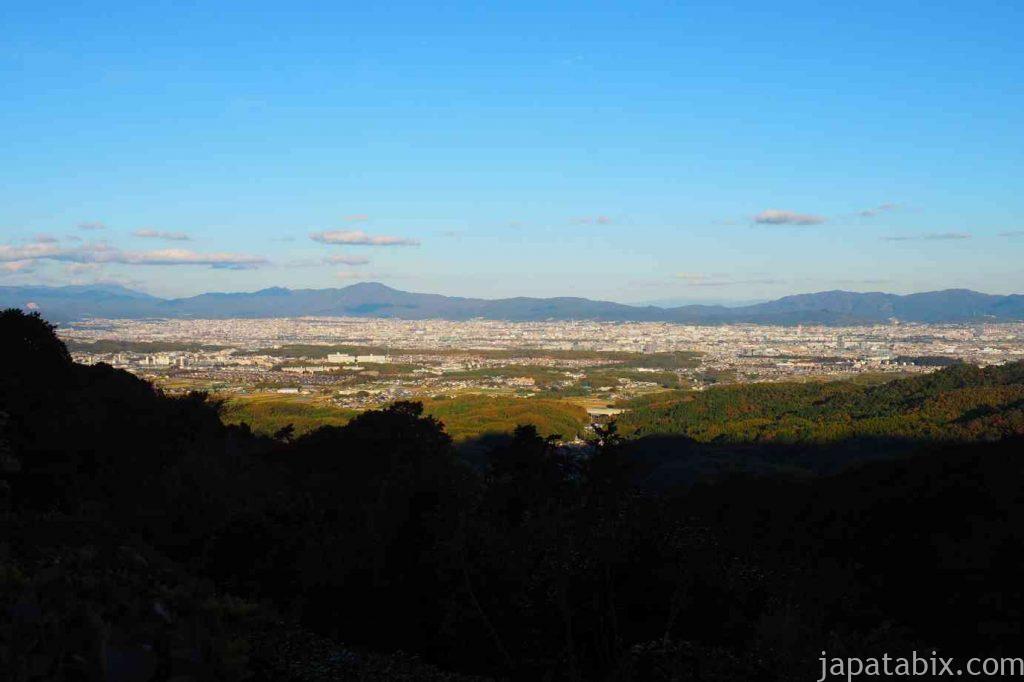 京都 西山 善峯寺 多宝塔からの京都眺望