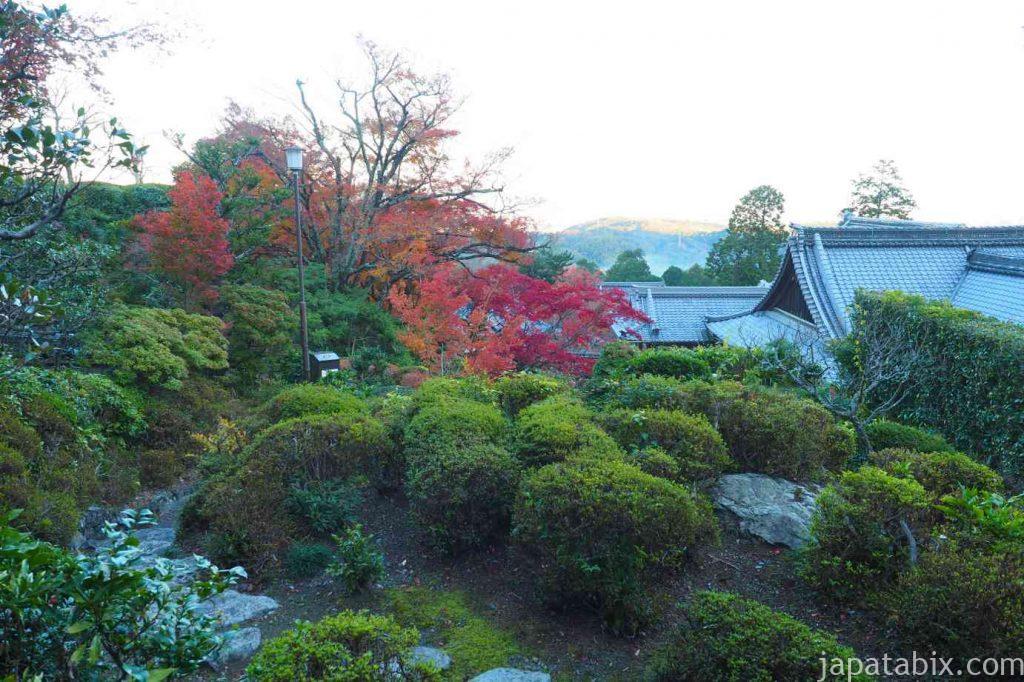 京都 西山 善峯寺 書院の紅葉