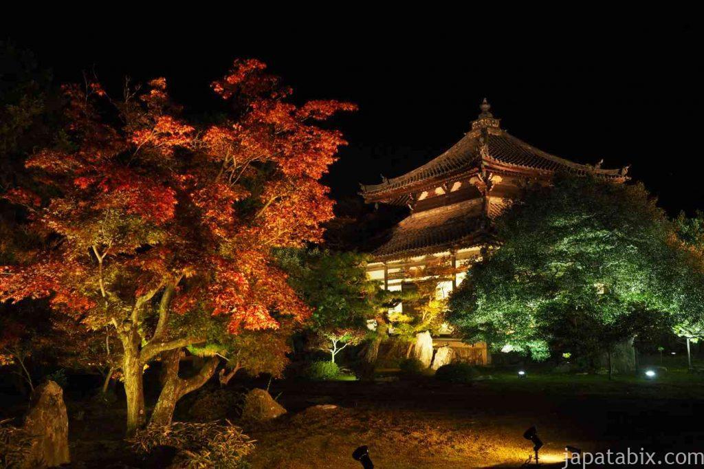 京都 嵯峨 鹿王院 舎利殿 夜間特別拝観