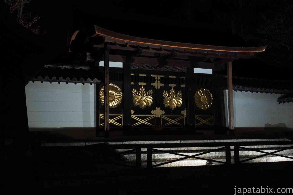 京都 醍醐寺 紅葉ライトアップ 唐門