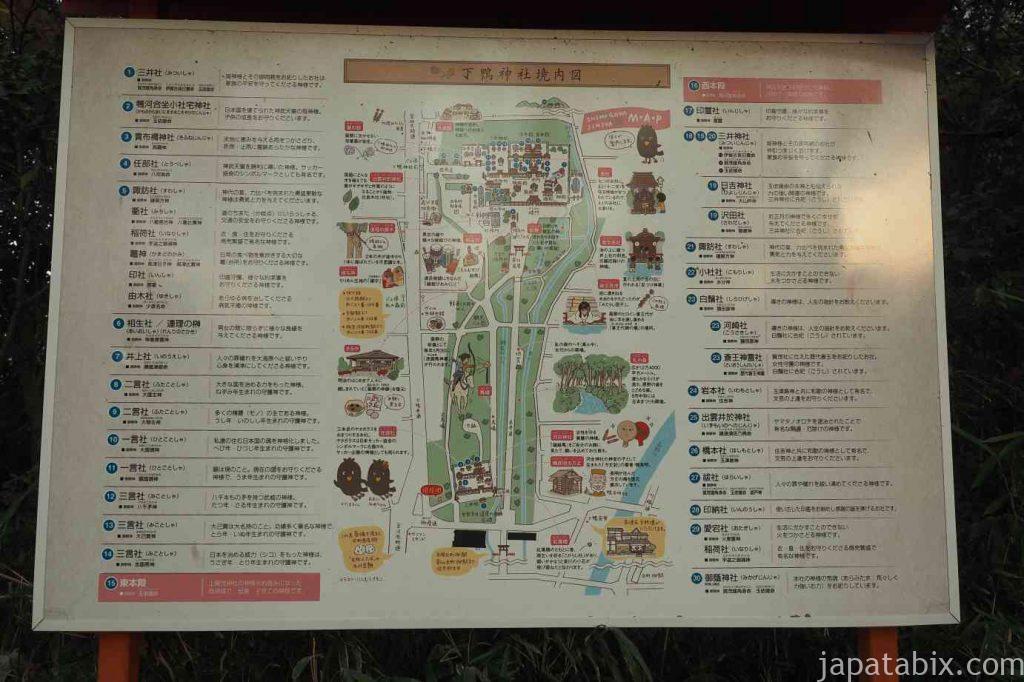 京都 下鴨神社 境内図