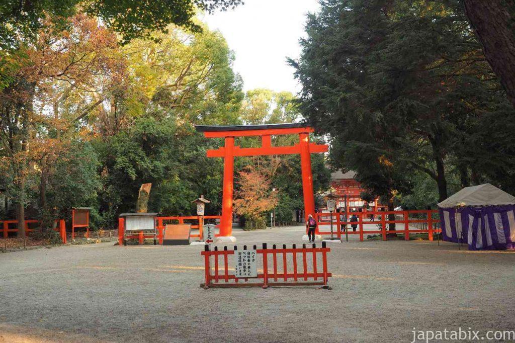 京都 下鴨神社 南口鳥居